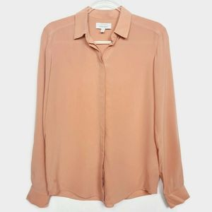 & Other Stories 100% Silk long sleeved blouse